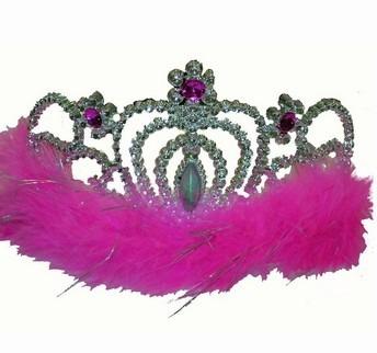 coroa princesa festas marabu sortida-13cm (3323) [12 un.]