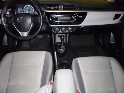 corolla 1.8 aut gli prata 2016 - playauto veiculos