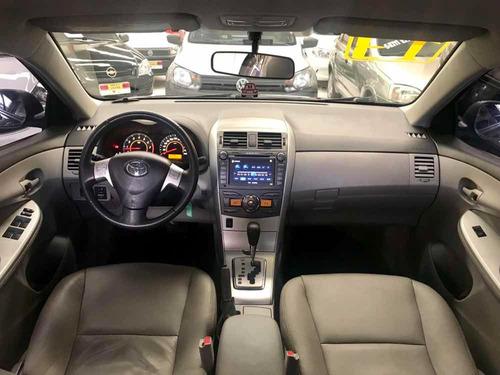 corolla 1.8 gli flex automático 2013 kingcar multimarcas