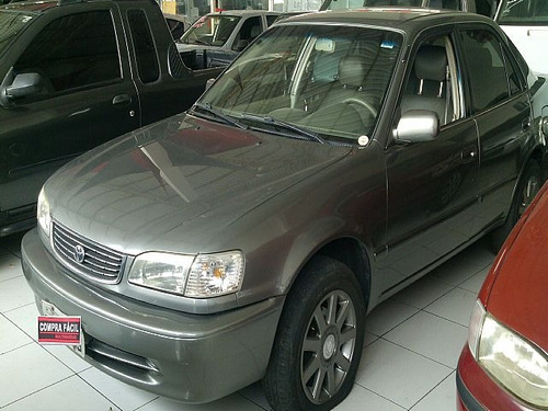 corolla 1.8 xei 16v automatico 2001 - aceito troca por kombi