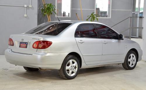 corolla 1.8 xei nafta 4p 2005 color gris
