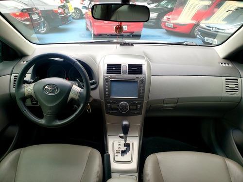 corolla 2.0 xei automático - 2011 - flex - baixa km!!
