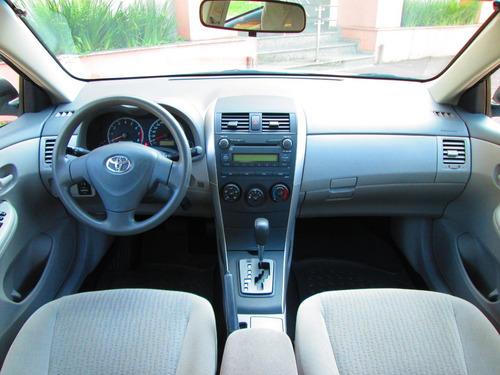 corolla 2010 xli 1.8 flex automático só 76.000 km impecável
