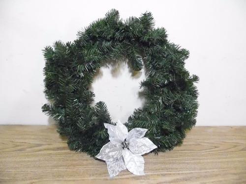 corona adorno decorativo navidad 50cm g718