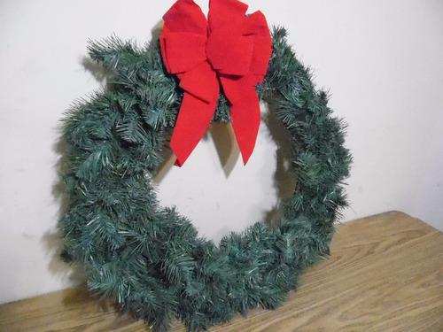 corona adorno decorativo navidad 60cm g719
