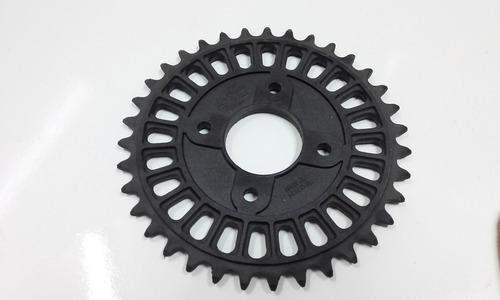 corona ciclomotor zanella 50-70 plastico 35 dientes en xero!
