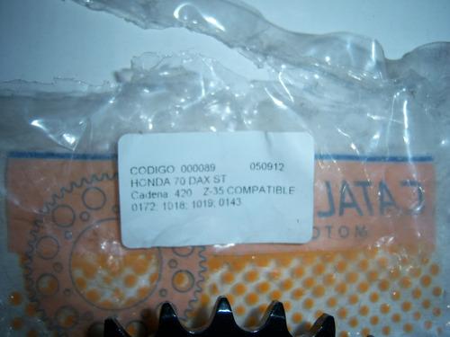 corona de honda dax 70, compatible con otras simil chinas