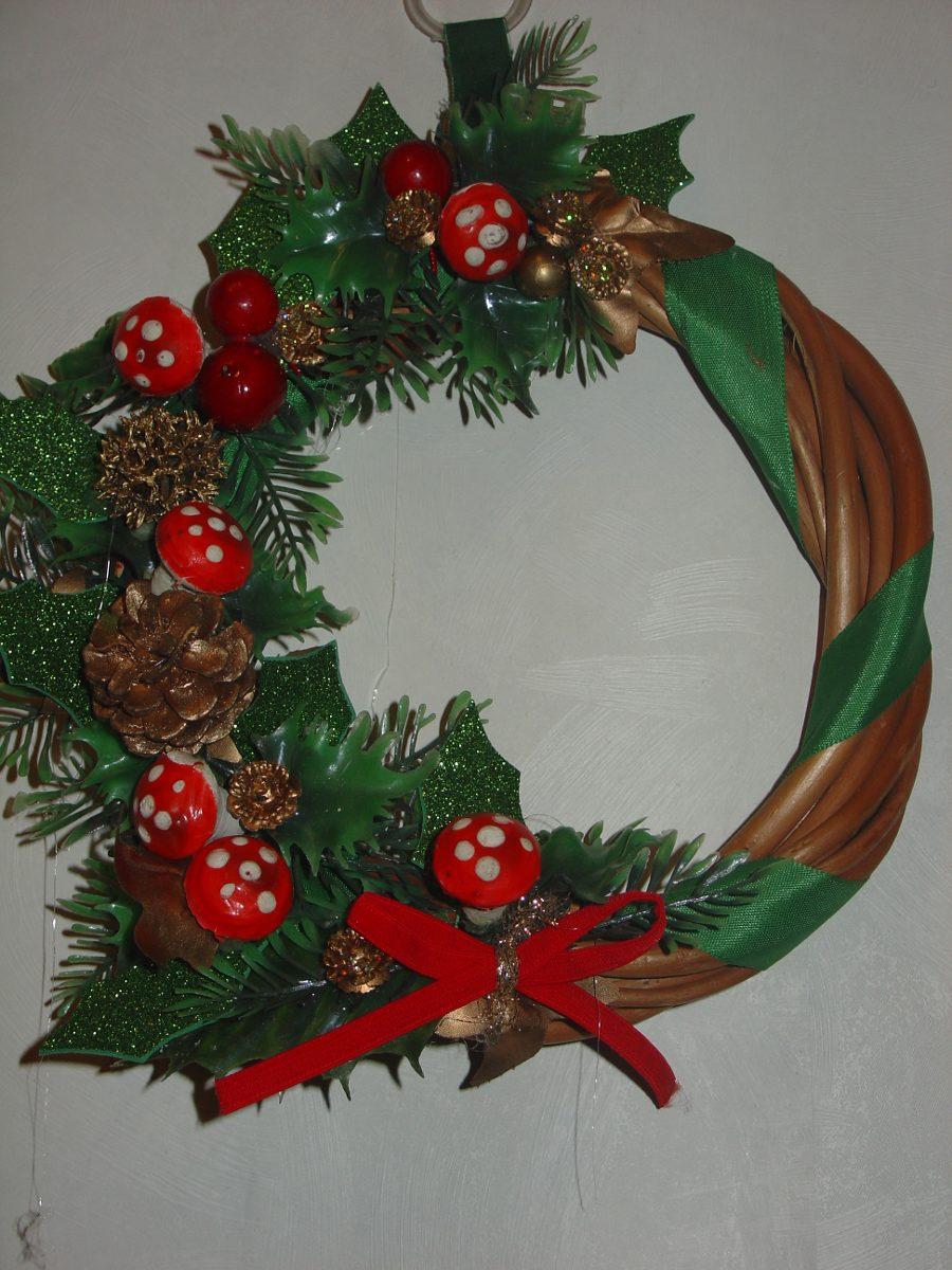 corona de navidad artesanal navidad - Coronas Navidad