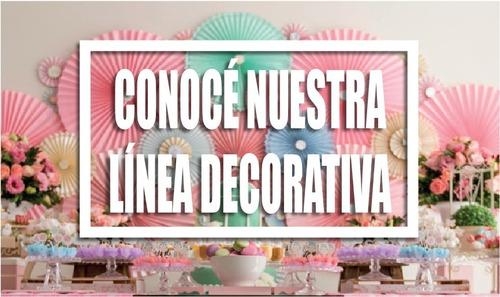 corona guirnalda varios colores x6 unidades - jupiter party