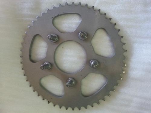 corona honda xlr 125 50 o 53 dientes  ruta 3 motos san justo