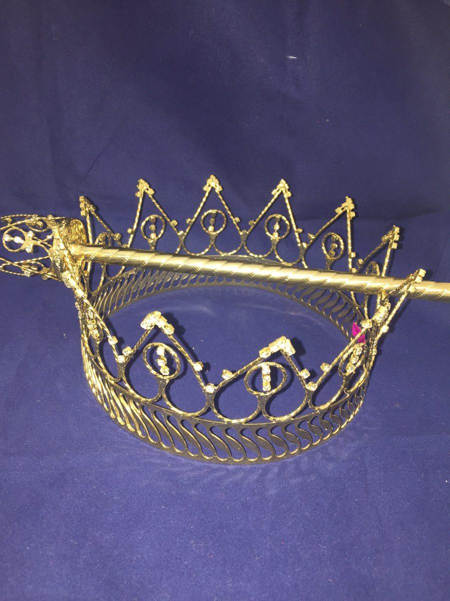 corona rey metal eco  carnaval   pr u00edncipe   primavera