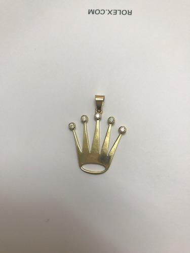corona rolex con cubis oro 18 k orologijoyas