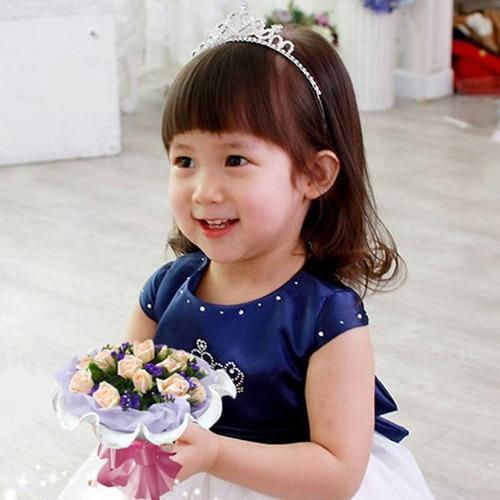 corona tiara diadema para niña princesa presentacion