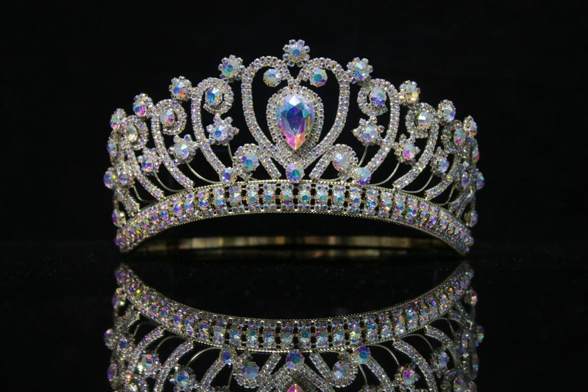 2c8cb0f2d5 Corona Tiara Diadema Peineta Tocado Novia Xv Boda -   890.00 en ...