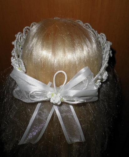 corona tocado comunion confirmacion presentacion princesa