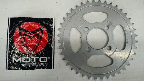 corona yamaha rd/ dt 50 - gt 80 40 dientes 420 motovergara