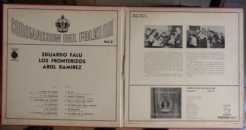 coronacion del folklore vol 2 disco vinilo lp falu ramirez