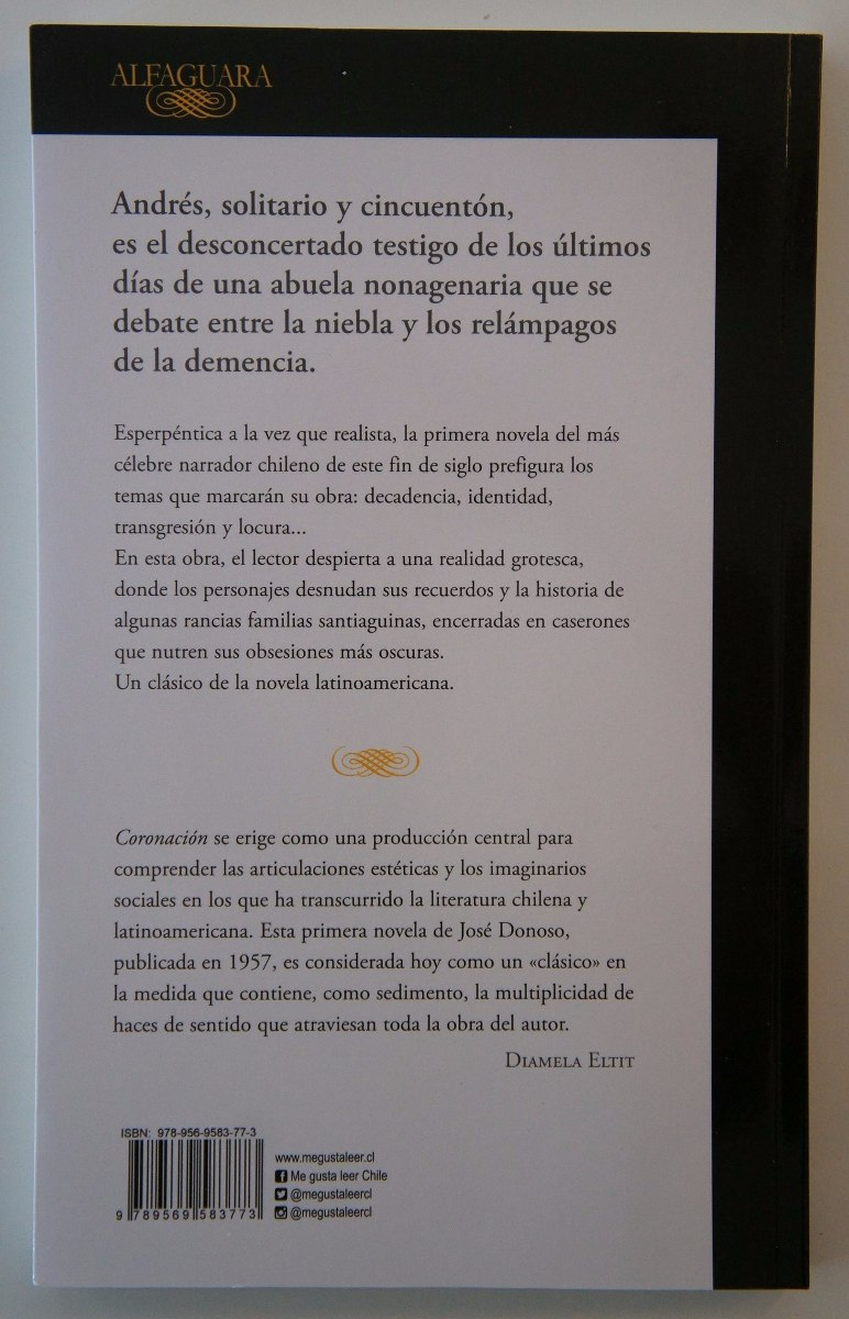 Descargar Coronacion Jose Donoso Pdf