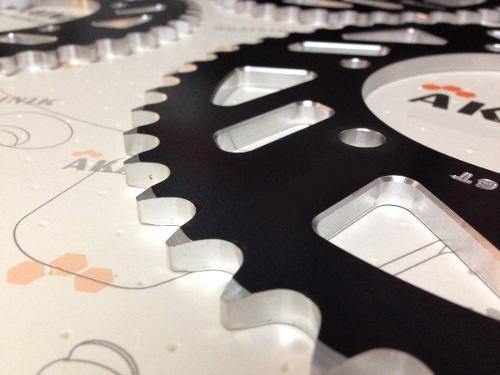 coronas aluminio akainik honda cr f xr twister 125 250 450