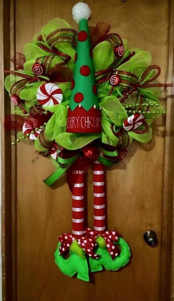 Coronas Navidad Duendes 100000 En Mercado Libre - Coronas-navidad