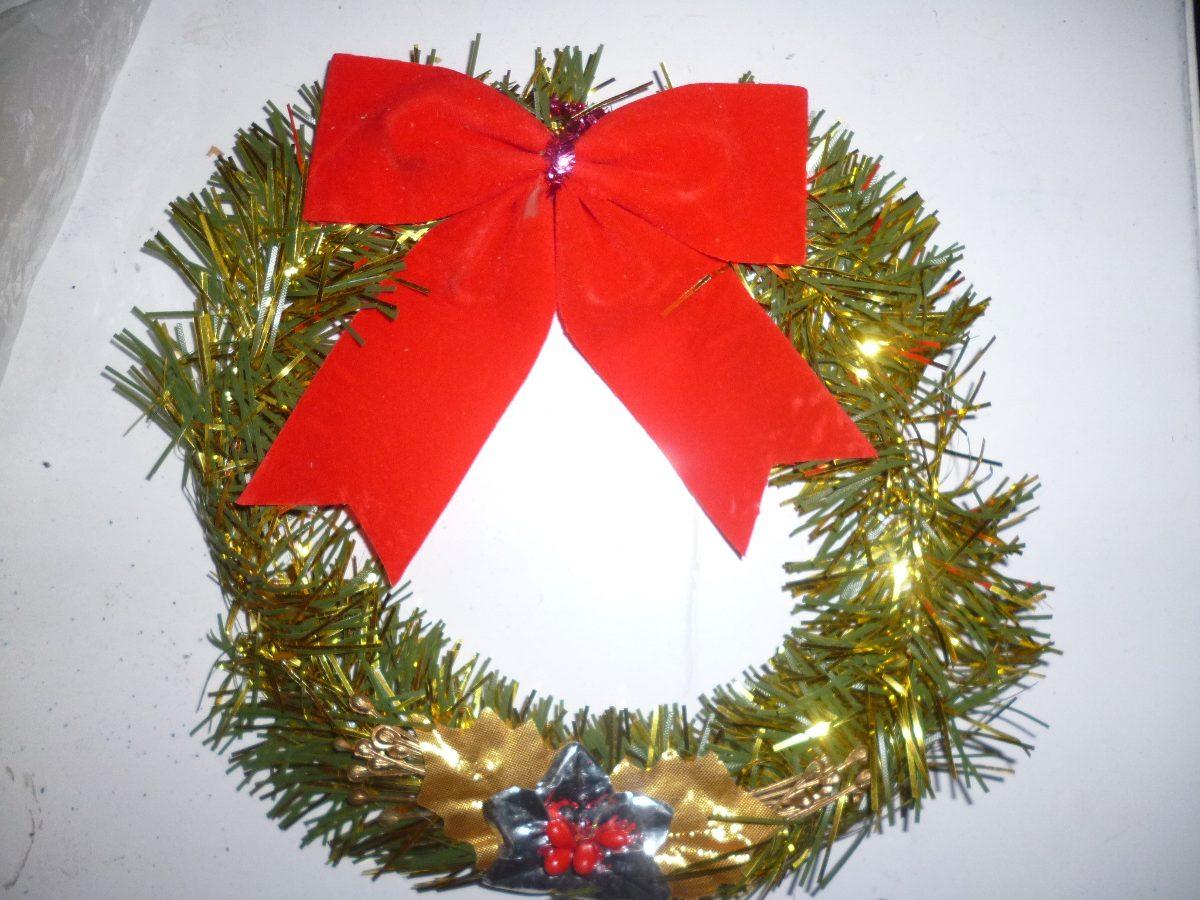 coronas de navidad tal cual la foto - Coronas Navidad