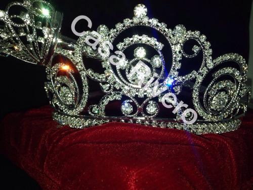 coronas para carnaval hechas de metal con crsital mn4