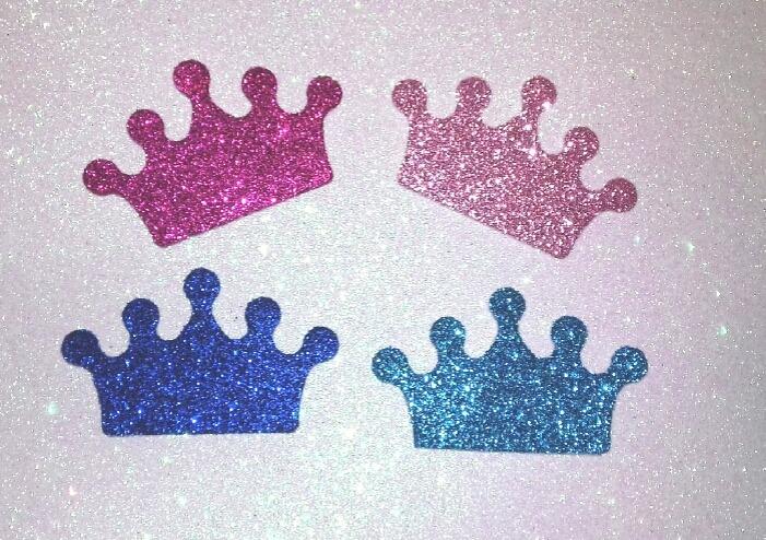 Coronas Princesas Osos Figuras Autoadhesiva 10u 8500 En