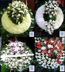 coronas y arreglos funebres