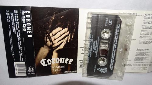 coroner - no more color (carcasa:vg - inserto:ex)