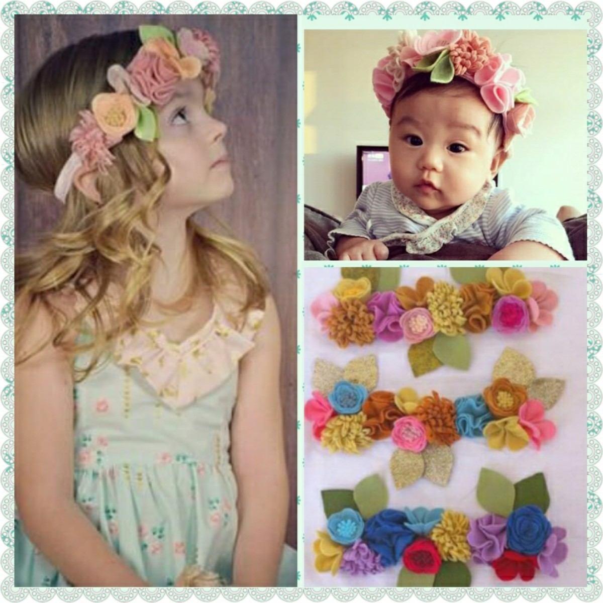 Coronitas de flores para bebes ni as y mamis bs - Coronitas de flores ...