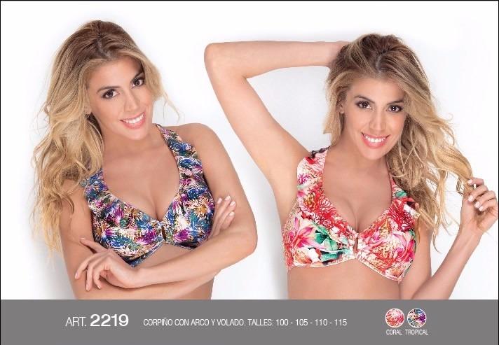 7a69befb9d67 Corpiño De Bikini Talles Grandes Hasta 120!!!