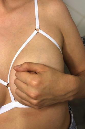 corpiño erótico de tiras / lencería- sado - diseño sexy
