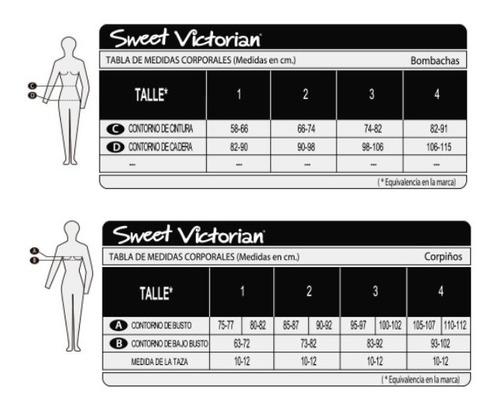 corpiño multiposicion sweet victorian espalda descubierta