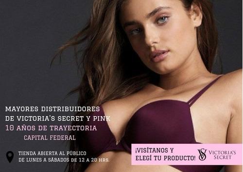 corpiño soutien bralette victoria's secret pink 20% off