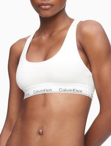 the best attitude 034b0 b256a Corpiño Top Calvin Klein Original 100% Usa - Blanco