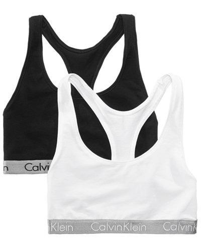 752bf43682dbb Corpiño Top Deportivo Calvin Klein Negro Con Elastico Gris -   1.099 ...