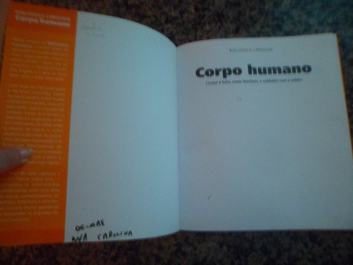 corpo humano - larousse