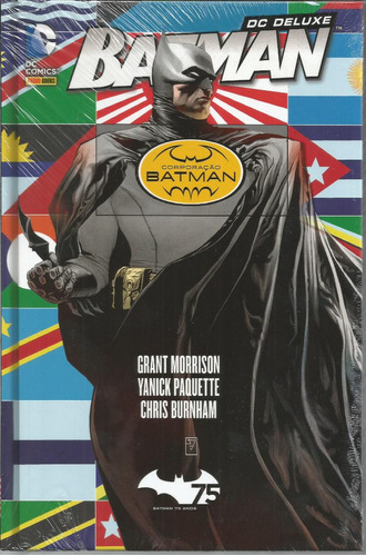 corporacao batman dc deluxe - panini - bonellihq cx100 h19