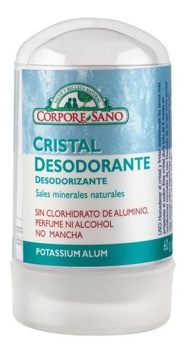 corpore sano desodorante cristal alumbre potasico 60gr