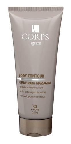 corps lignea body contour creme para massagem hinode