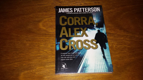 corra alex cross - james patterson - livro novo