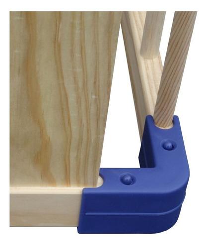 corral bebe madera conectores 4 lados