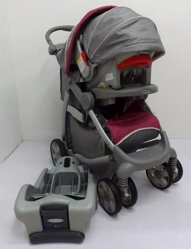 corral c/móvil sonido coche y porta bebe combo graco niña