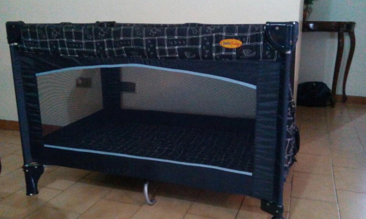 Corral Cuna Gama Baby Color Azul Marino Para Nino Bs 0 25 En