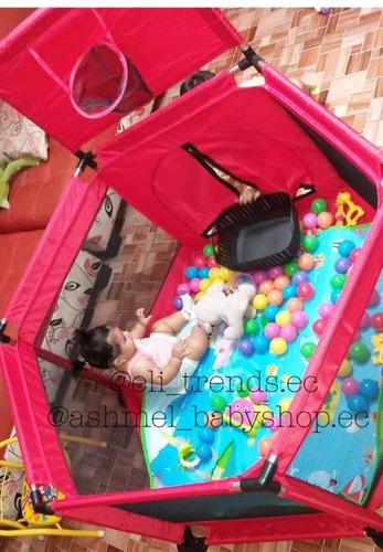 corral de juegos para bebés 1.35 x 0.65 varios colores