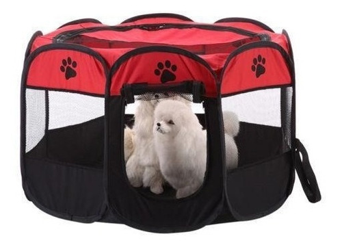 corral m perros gatos, plegable