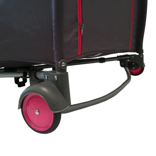 corral mecedora con vibrador happy baby chobi rosa