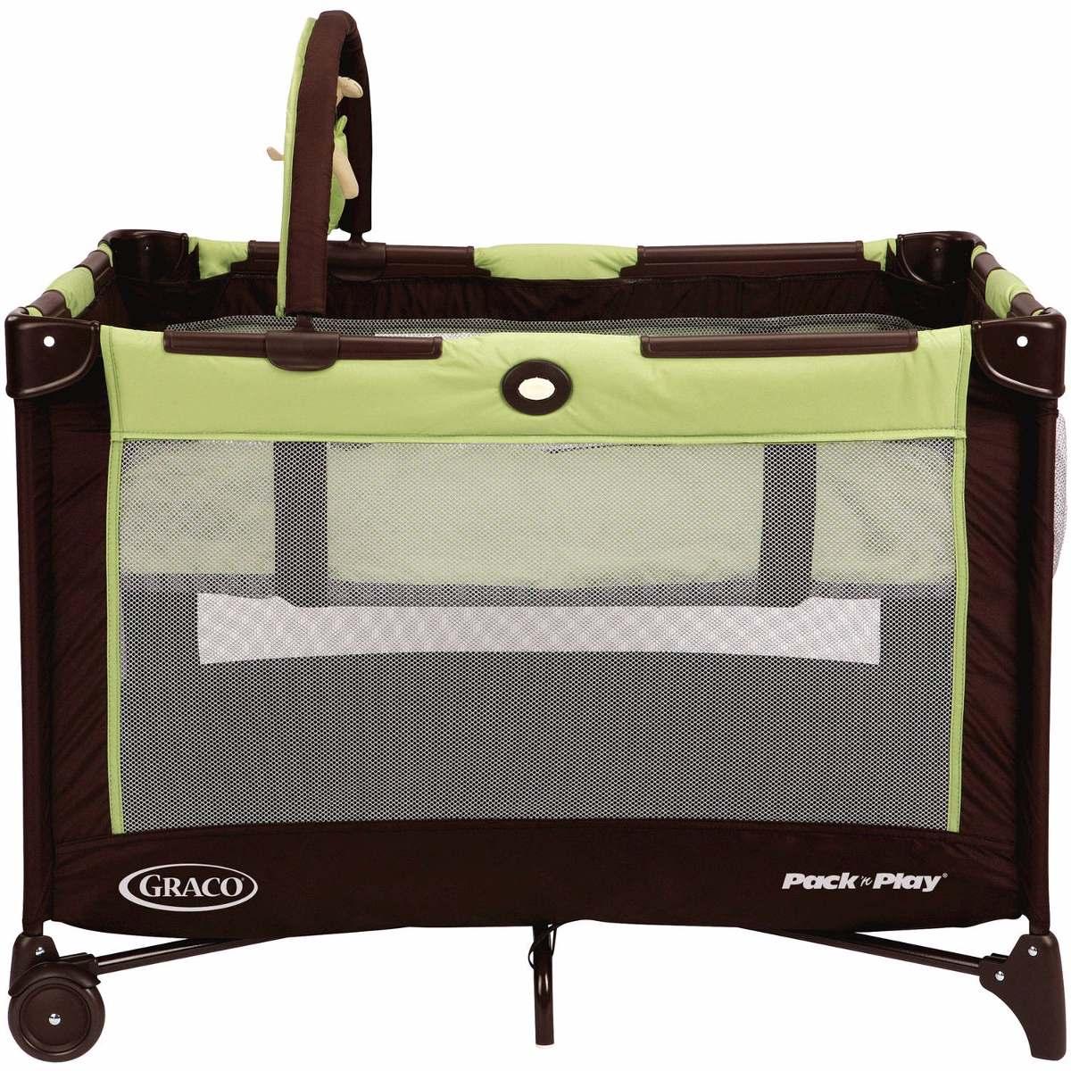 corral moises para bebe cuna portatil y cambiador cafe verde 2 en mercado libre. Black Bedroom Furniture Sets. Home Design Ideas
