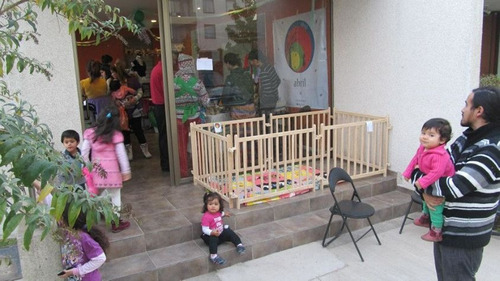 corral octágono madera desmontable abriltienda crianzanatura