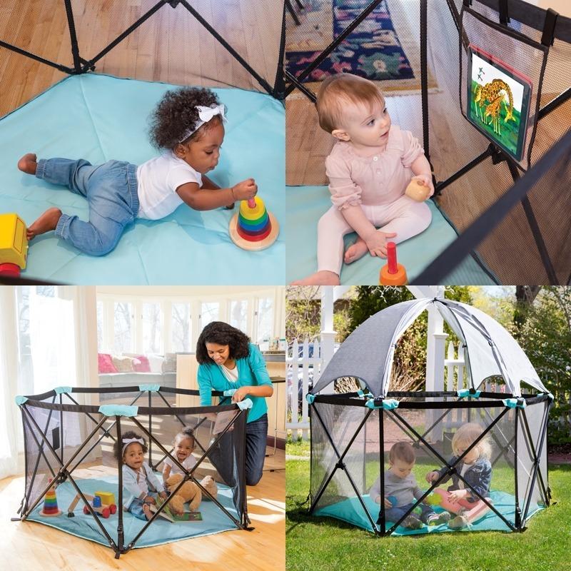Summer Infant  POP N PLAY DELUXE Parque de juego plegable para beb/é